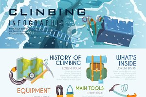 Climbing Infographic