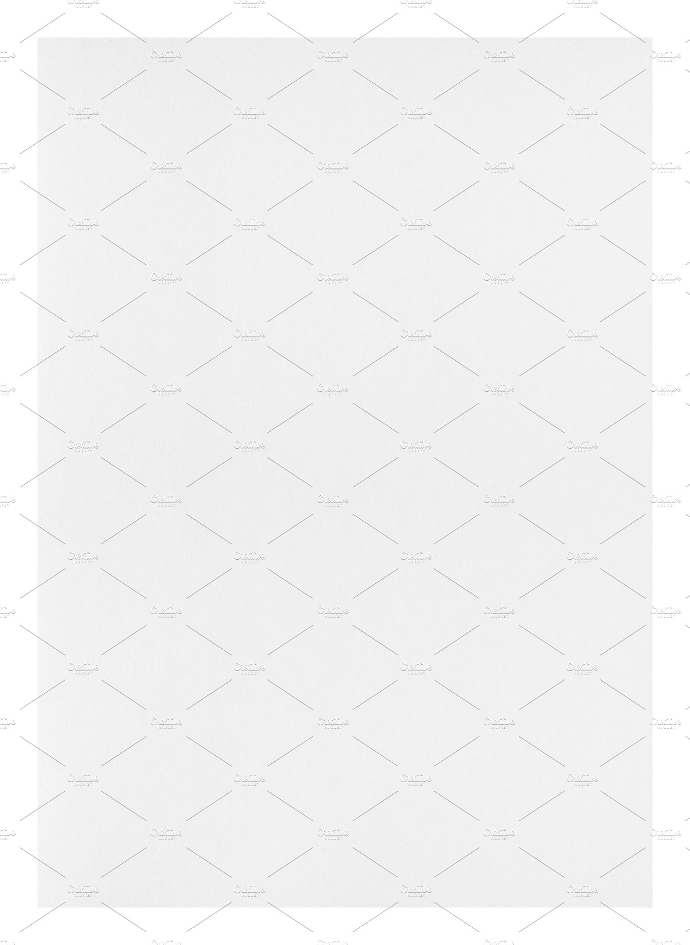 Paper sheet isolated on white ~ Abstract Photos ~ Creative