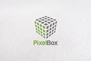 Premium Pixel Box Logo Templates