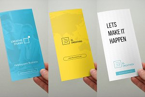 Bundle - Trifold Brochures - 3 in 1