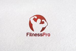 Fitness Center V2 - Premium Logo