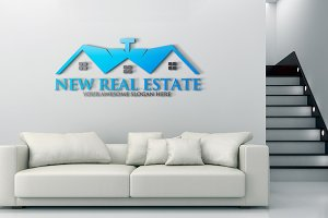 New Real Estate Logo Template