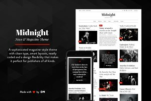 Midnight - A Magazine Style Theme