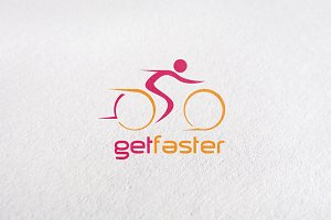 Bikecycle, bike, race, biker Logo
