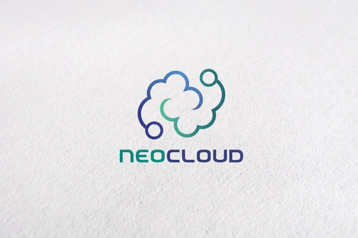 Letter n data cloud logo templates logo templates creative market spiritdancerdesigns Image collections