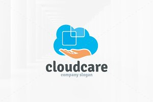 Cloud Care Logo Template