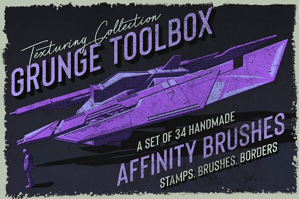 Affinity Grunge Toolbox Brushes