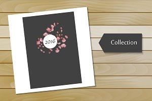 №50 Vintage Flower Calendar 2016