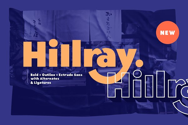 Hillray - Stylish Bold Sans