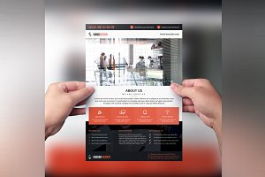 Flyer for Web Designer & Developer