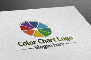 Color Chart Logo
