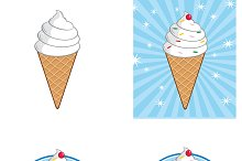 Ice Cream Banners Collection