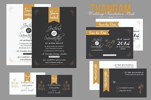 Thangam Wedding Invitation Pack