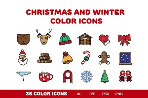 Christmas icons! 50% OFF!