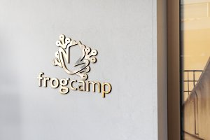 Frog Camp Logo Template