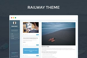 RAILWAY - Responsive Tumblr theme
