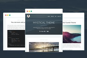 MYSTICAL - Multipurpose Tumblr Theme