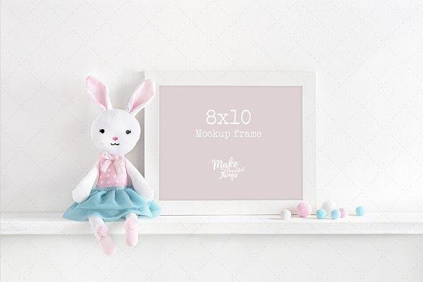 8x10 nursery frame mockup