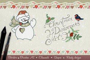Christmas designer's KIT
