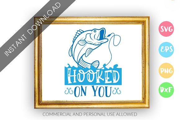 Download Fishing Svg Design Bundle Pre Designed Illustrator Graphics Creative Market