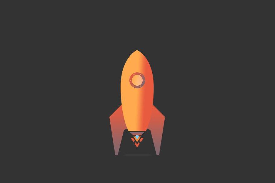 Rocket Vector Icon