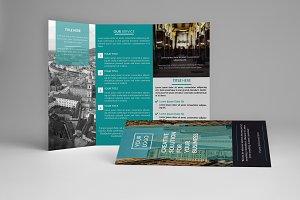 Bisnis Trifold Brochure