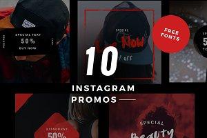10 Instagram Promotional