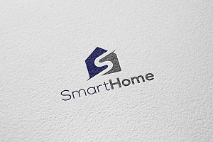 Smart Home | Letter S Logo Template