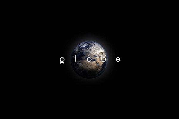 font package - globe & solar