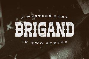 Brigand Typeface