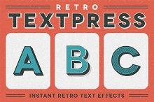 Retro Textpress – Illustrator Styles