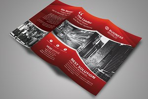 Business Promotion  Tri-Fold Brochur