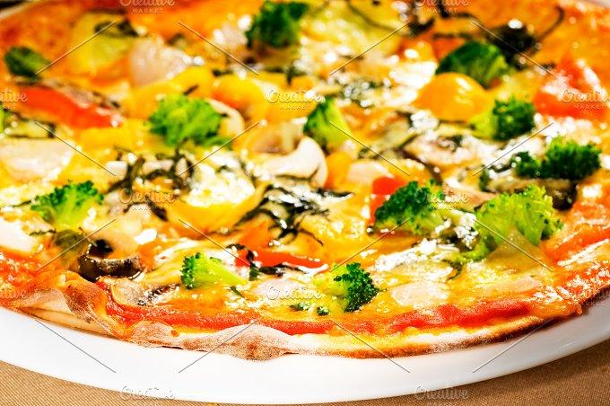 vegetables pizza 02.jpg - Food & Drink