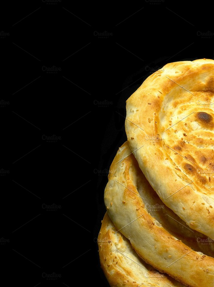 uzbek bread 14.jpg - Food & Drink