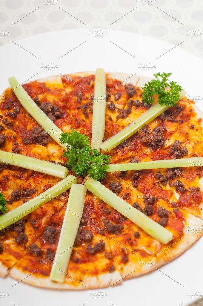 Turkish beef pizza pita 19.jpg - Food & Drink