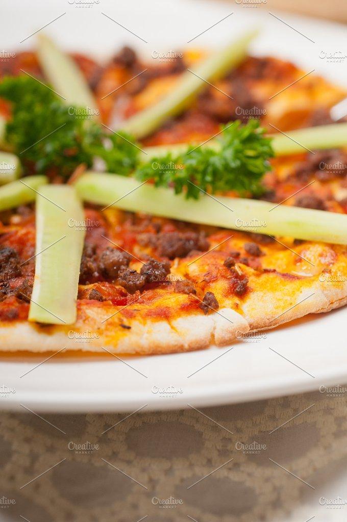 Turkish beef pizza pita 16.jpg - Food & Drink