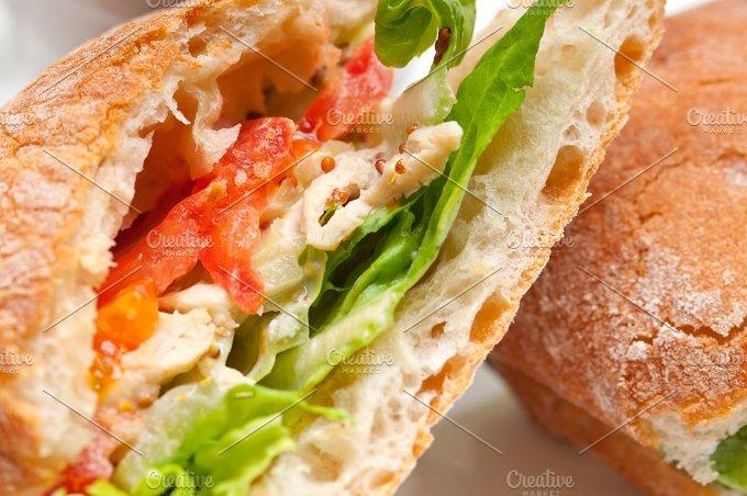tomato and chicken ciabatta sandwich 15.jpg - Food & Drink