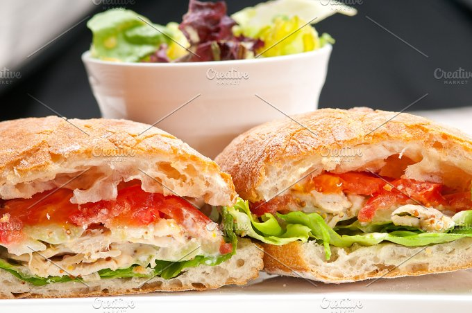 tomato and chicken ciabatta sandwich 21.jpg - Food & Drink