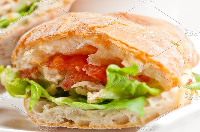 tomato and chicken ciabatta sandwich 30.jpg - Food & Drink