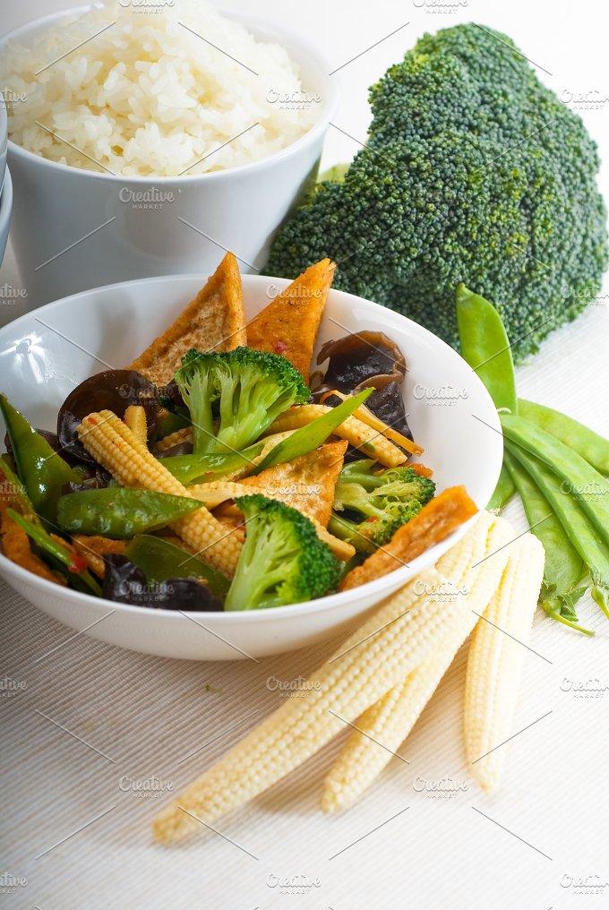 tofu or dou fu and vegetables 8.jpg - Food & Drink