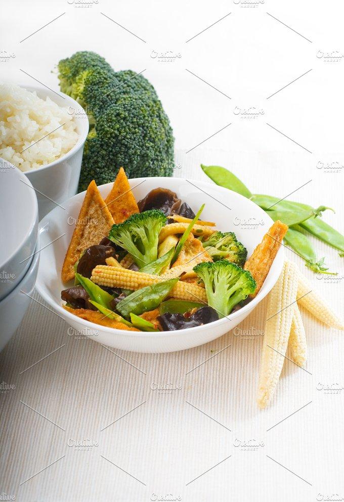 tofu or dou fu and vegetables 7.jpg - Food & Drink