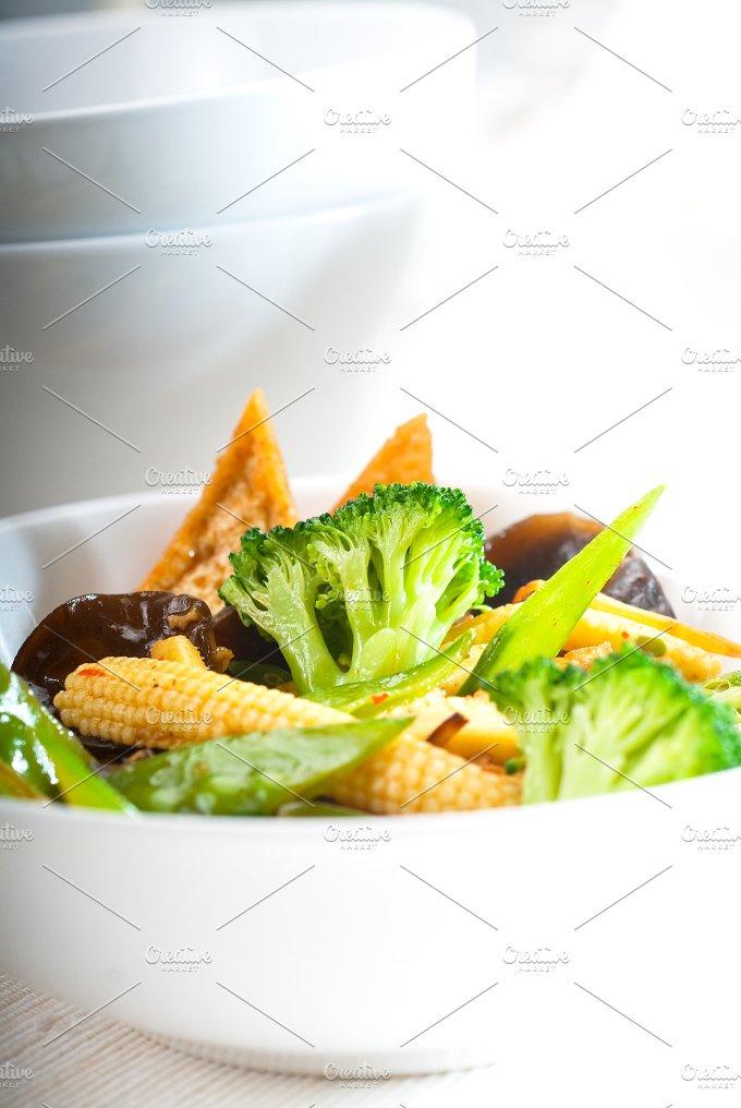 tofu or dou fu and vegetables 10.jpg - Food & Drink