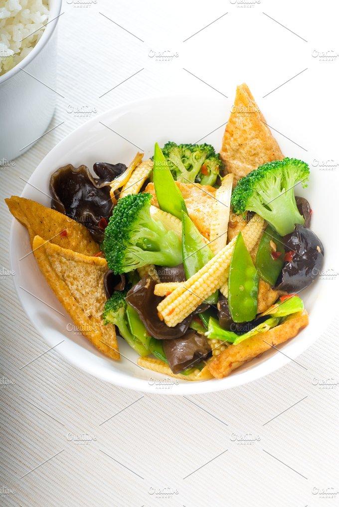 tofu or dou fu and vegetables 14.jpg - Food & Drink