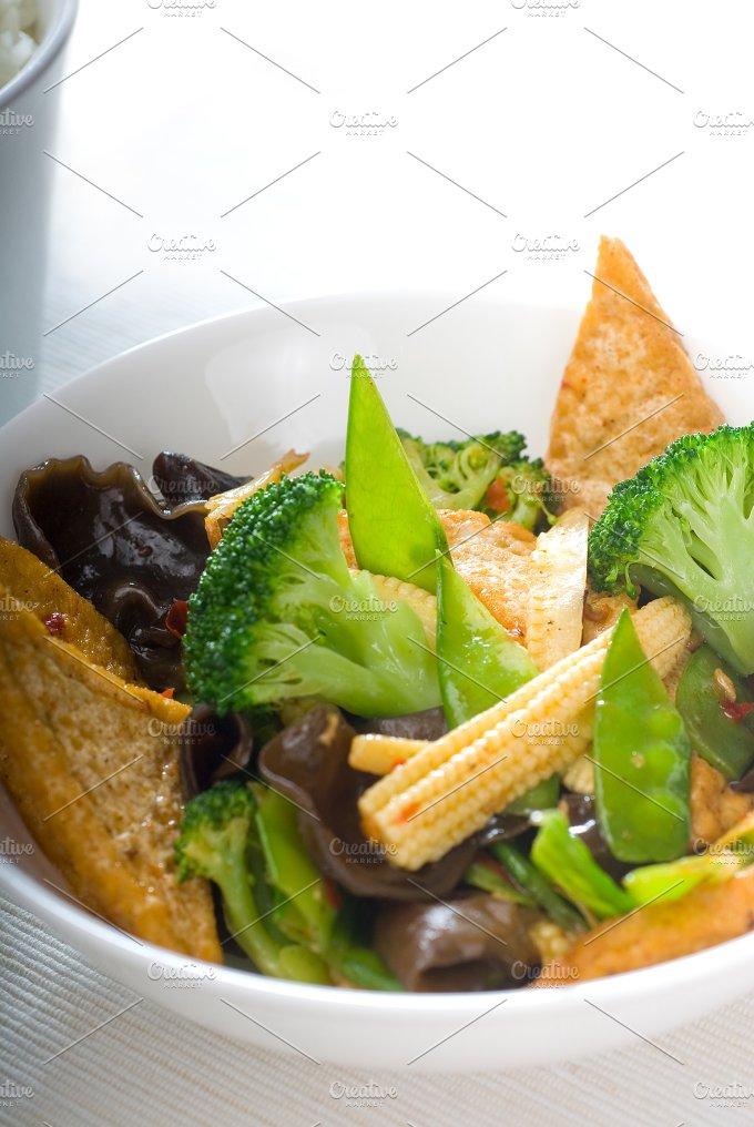 tofu or dou fu and vegetables 16.jpg - Food & Drink