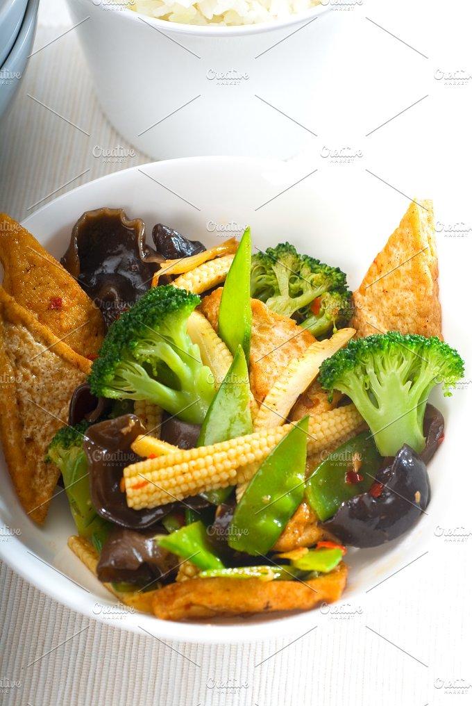 tofu or dou fu and vegetables 17.jpg - Food & Drink