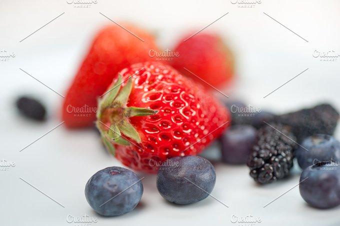 berries on white 5.jpg - Food & Drink