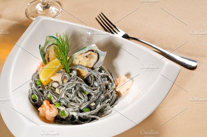 black spaghetti and seafood06.jpg - Food & Drink
