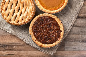Fresh Thanksgiving Pies