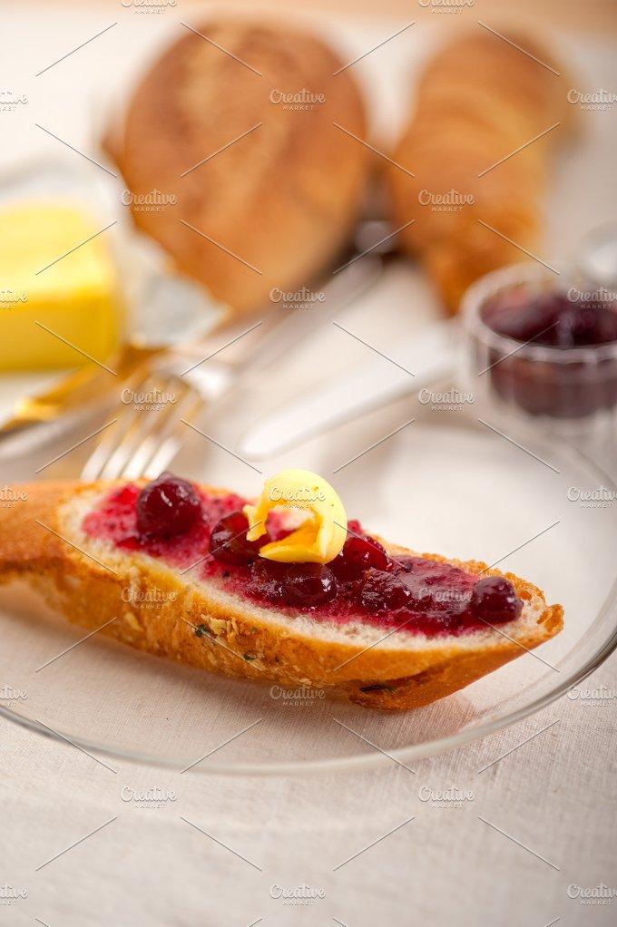 breakfast bread butter and jam 45.jpg - Food & Drink