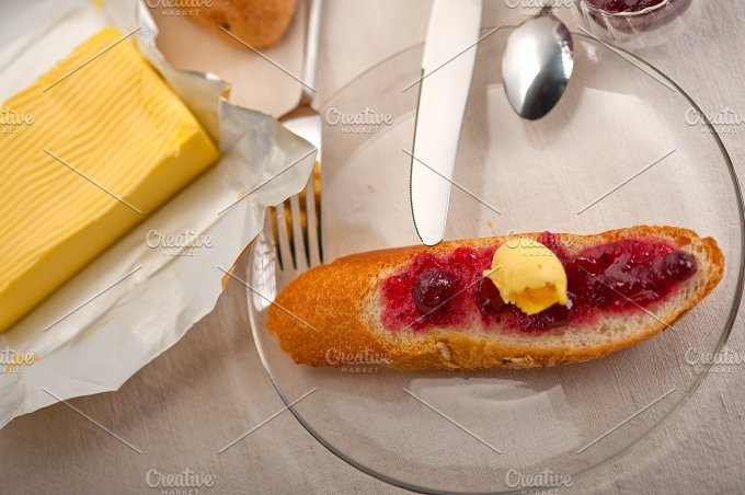 breakfast bread butter and jam 43.jpg - Food & Drink